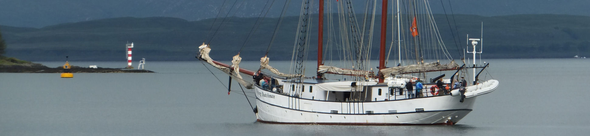 Sailing vessel The Flying Dutchman